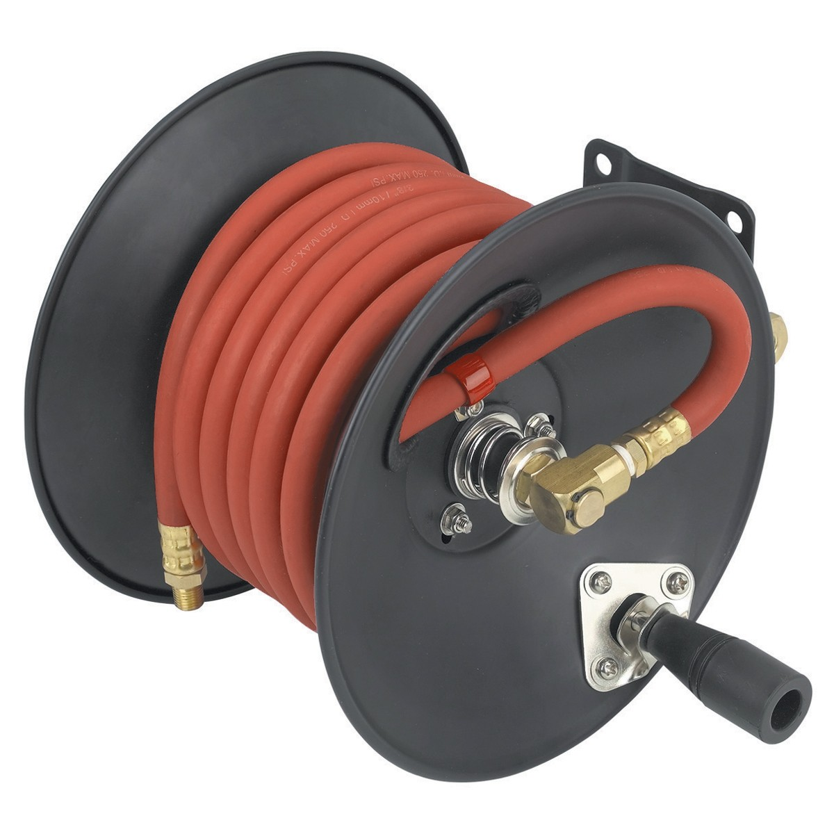 Air Hose Reel with 3/8 in. x 30 ft. Hose